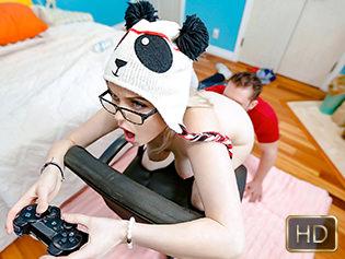 River Fox in Gamer Girl Goo - Titty Attack | Team Skeet