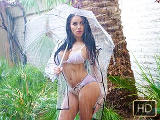 Victoria June in Rain, Rain, Hoe Away - Titty Attack   Team Skeet