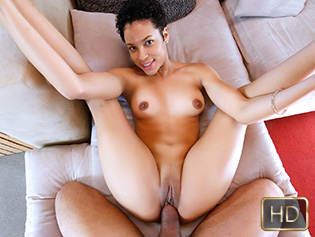 Amethyst Banks in A Gem Of A Pussy - Teeny Black | Team Skeet