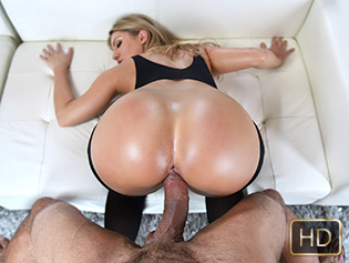 Candice Dare in Stocking Suited With A Juicy Ass - Teen Curves | Team Skeet
