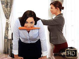 Keisha and Karlee in Submissive Secretary - Teen Curves | Team Skeet