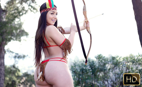 Lola Foxx in Poke This Pocahontas | Team Skeet
