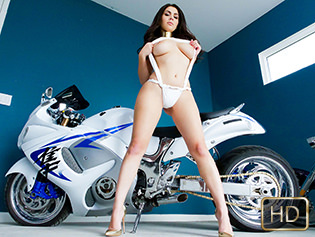 Valentina Nappi in Motorcycles And Monster Curves - Teen Curves | Team Skeet