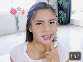 Katya Rodriguez in Sucking For The Selfie - This Girl Sucks | Team Skeet