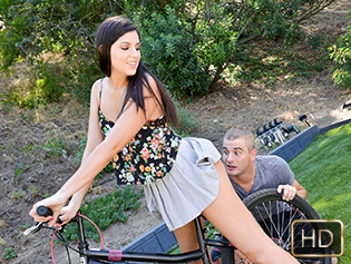 Miranda Miller in Butt Fuck On Your Bicycle - Teens Love Anal | Team Skeet