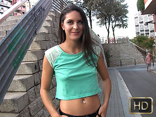 Carolina Abril in Spanish Waitress Fucks For Cash - Teens Love Money | Team Skeet