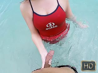 Kimber Lee in Lifeguard On Dick Duty - Teens Love Money | Team Skeet