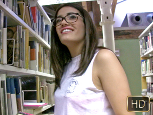 Penelope Cum in Lewd In The Library - Teens Love Money | Team Skeet
