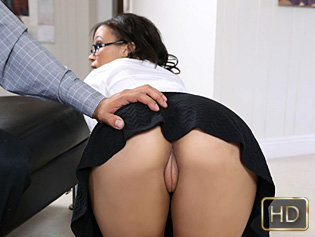 Adrian Maya in My New Suckretary - Teen Pies | Team Skeet
