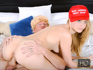Alexa Grace in The Not So Trump Sex Tape Scandal - Teen Pies | Team Skeet