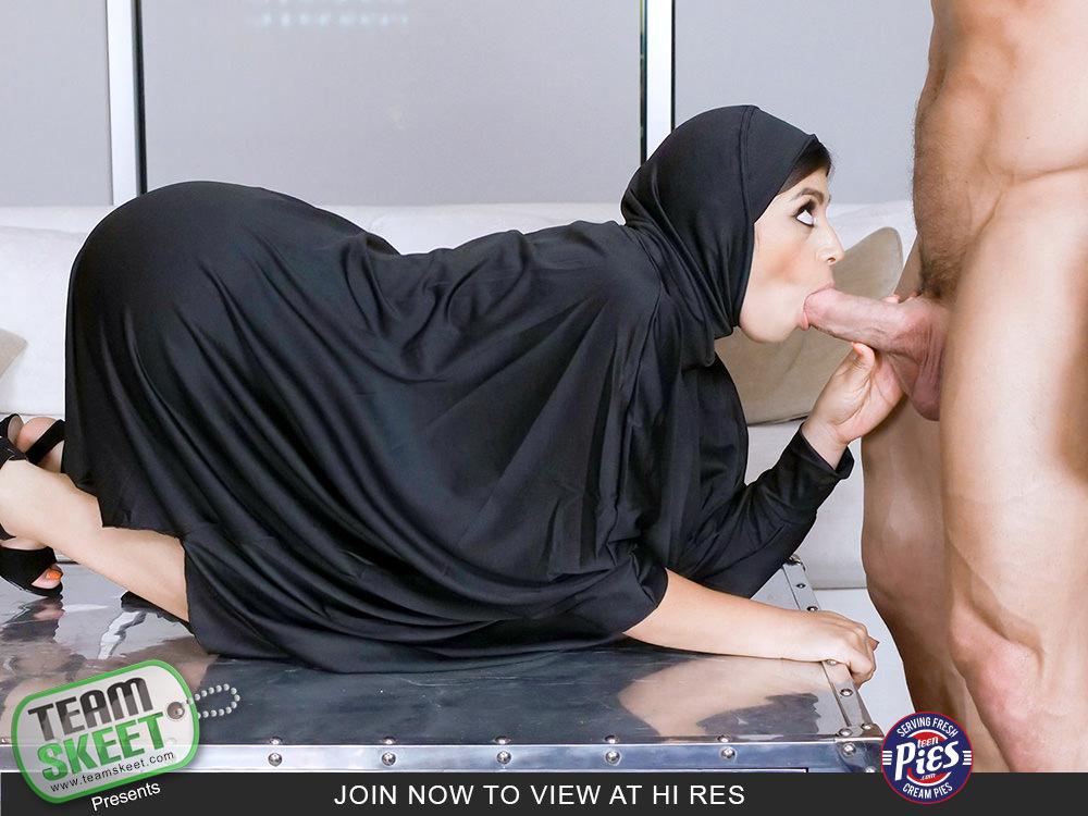Ella Knox  Muslim Teen Gets The Cream  Teenpies  Teamskeet-1585