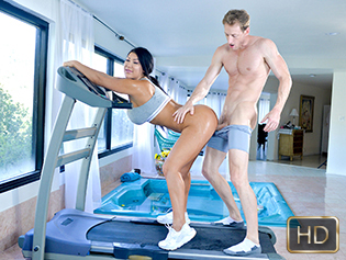 August Taylor in Hottest Workout Ever - The Real Workout | Team Skeet