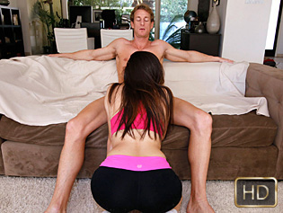 Ava Taylor in Sorry About Your Balls - The Real Workout | Team Skeet