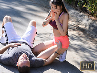 Brenna Sparks in Warm Up My Cock - The Real Workout | Team Skeet