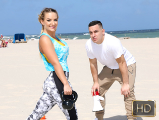 Cali Carter in Muscled Babes Do It Better - The Real Workout | Team Skeet