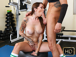 Callie in Fucking For Gym Memberships - The Real Workout | Team Skeet