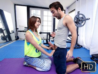 Cece Capella in Cum Squeeze Workout   - The Real Workout | Team Skeet
