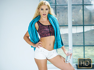 Cherry Kiss in Personal Pussy Trainer - The Real Workout | Team Skeet