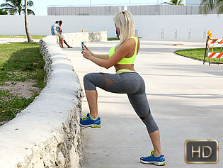 Cristi Ann in Private Workout Lesson - The Real Workout | Team Skeet