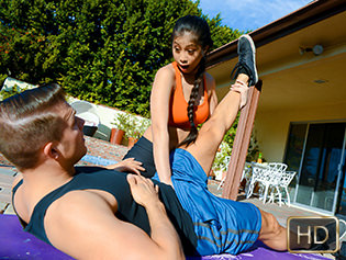 Jade Kush in Fucks Deluxe - The Real Workout | Team Skeet
