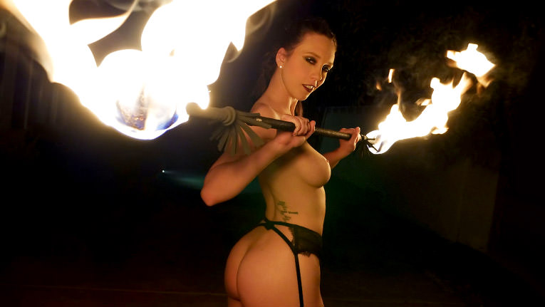 Therealworkout – Smoking Hot Fire Spinner Gets A Blazing Dickdown – Jade Nile