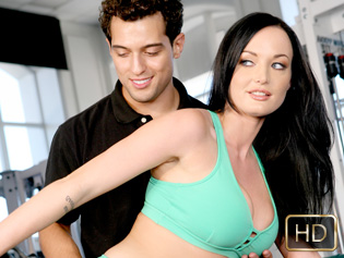 Melissa Lauren in After Hours Aerobics - The Real Workout | Team Skeet