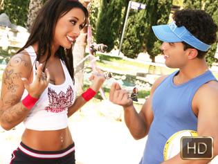 Mya Nichole in Anal Spike - The Real Workout | Team Skeet