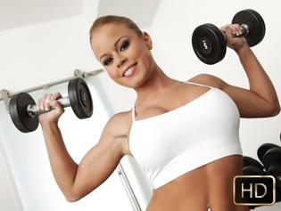 Nikki Delano in Tight Body Hottie - The Real Workout | Team Skeet