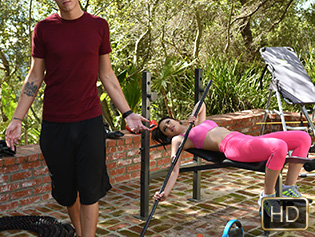 Quinn Wilde in The Perverted Personal Trainer - The Real Workout | Team Skeet