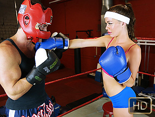 Stella Daniels in Training With Stella - The Real Workout | Team Skeet