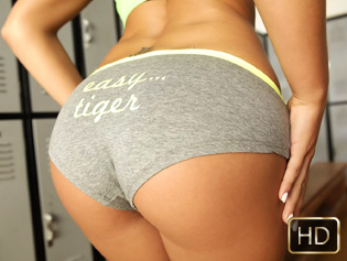 Tiffany Brookes in Bounce Them - The Real Workout | Team Skeet